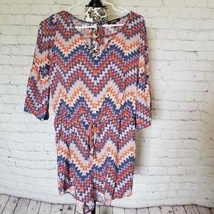 Dresses & Skirts - Tribal Print Romper MD